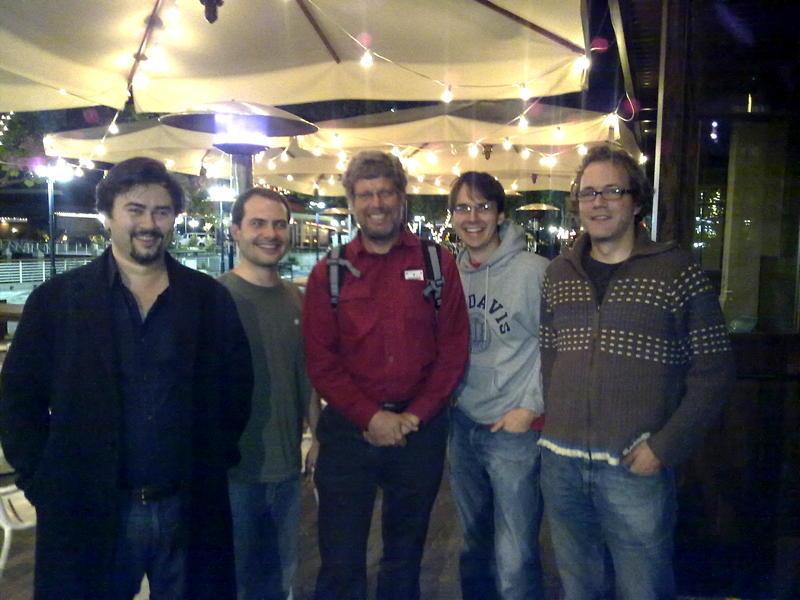 Dinner with Guido van Rossum, 2009